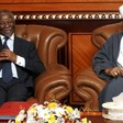 Former President of South Africa and chairman of the AU High-level Implementation Panel, Thabo Mbeki, visits President of Sudan Omar Hassan Al Bashir in Khartoum in 2008. The AUHIP brokers the peace negotiations between the Sudanese government and the rebel SPLM-N in South Kordofan and Blue Nile states (Reuters)