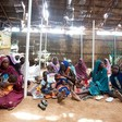 Women and their children are waiting for medical treatment in Kassab camp for the displaced in North Darfur ( Albert González Farran/Unamid)
