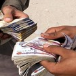 Informal currency traders in Khartoum (File photo)