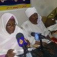 National Umma Party Secretary-General Sara Nugdallah speaks at a press conference in Omdurman (Sudan Tribune)