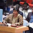 International Criminal Court (ICC) Prosecutor Fatou Bensouda briefs the Security Council on Sudan and South Sudan. UN Photo/Eskinder Debebe