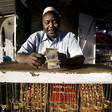 A gold trader at the Omdurman Grand Market (marcodilauro.com)