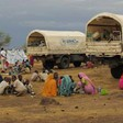 Sudanese refugees in Chad being moved from the border area, June 2014 (UNHCR)