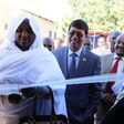 North Darfur Minister of Social Welfare, Dr Fatima Ibrahim, inaugurates the Tuberculosis Zonal Laboratory in El Fasher, 1 February 2016 (UNDP Sudan)
