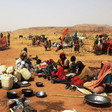 Displaced families from Jebel Marra continue to arrive in Tawila, February 2016 (OCHA Sudan)