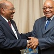 Sudan's President Omar Al Bashir and South African President Jacob Zuma (File photo: SABC)