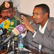 Maj. Gen. Mohamed Hamdan Dagalo 'Hemeti' at a press conference at the Defence Ministry in Khartoum 30 August 2016 (Suna)
