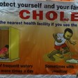 A poster in South Sudan (Eye Radio Network)