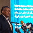 Sudan's First Vice-President and Prime Minister Bakri Hassan addresses the launch function (Picture: UNDP)