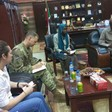 US Military Attaché visiting the Governor of North Darfur last week (SUNA)