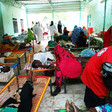 Cholera patients in an overcrowded medical ward in Kosti Hospital in White Nile state  (RD)