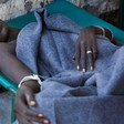 Cholera patient in Sudan (file photo)
