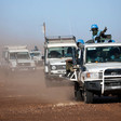 Members of the Unamid contingent posted in Um Baro in North Darfur (Albert Gonzalez Farran/Unamid)