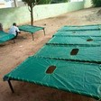 Making new beds for cholera patients, July 2017 (Twitter)