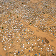 Aerial view of Kalma camp, hosting about 163,000 displaced near Nyala, capital of South Darfur (File photo)