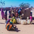 Water station in Darfur (Unicef Sudan)