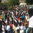 Protest against gold mining in Kologi, South Kordofan, on 12 November (RD)
