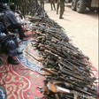 Collected weapons in Nyala, South Darfur (File photo)