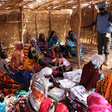 A session by Unamid on sexual and gender-based violence on 13 February 2018, with women from El Manara village near Ed Daein (Hassan Ishag/Unamid)