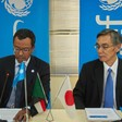 Shinji Urabayashi, Ambassador of Japan to Sudan and Unicef, have launched a new project for conflict affected children and communities in Darfur and South Kordofan (Photo: Supplied)