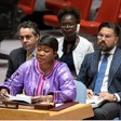 ICC Chief Prosecutor for Darfur, Fatou Bensouda, addresses the United Nations Security Council today (UN Photo)