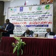 "On 17 December 2018, Unamid Joint Special Representative Jeremiah Mamabolo addressed the closing session of the 'Displaced Persons Conference', held in Nyala. The two-day forum, supported by the Mission and brought together ""over 200 displaced including women from across Darfur, recommended among others"" (Yousif Bilal/Unamid)"