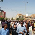 Protestors chant slogans in Khartoum against Al Bashir and his government on 31 December 2018 (social media)