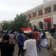 A protest march in Port Sudan on January 3