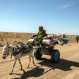 Unamid peacekeepers provide protection to farmers during a recent routine patrol near Tabit area, North Darfur (Unamid)
