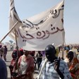 On Tuesday, the displaced people of Hamidiya and Khamsa Dagayeg camps near Zalingei, capital of Central Darfur, went out in a mass demonstration