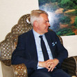 Finnish Foreign Minister Pekka Haavisto at the Republican Palace in Khartoum on Thursday (Picture: SUNA)