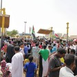 The March of the Millions for Justice in Khartoum on Thursday July 18.