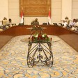 Meeting of members of the junta and opposition in Khartoum (SUNA)