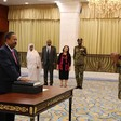 Prime Minister Abdallah Hamdouk sworn-in just over a week ago (SUNA)