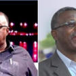 Ismail Eisawi (left) was replaced as director of the Sudanese Radio and Television Corporation on 15 September 2019 by Ibrahim El Buz'i (right), a former radio producer (Social media)