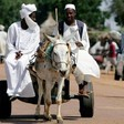A donkey cart in Sudan (Social media)