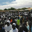 A demonstration in Kutum North Darfur after the killing of a displaced person at El Tomat gold mine (RD correspondent)