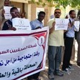 Sudanese Journalists Network protest (RD)