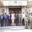 Members of the government delegation in Juba, December 18 (SUNA)