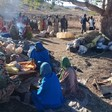 Villagers displaced to Sortony camp by recent violence in Terinja village (RD)