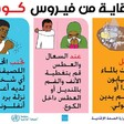 Poster by Sudan Ministry of Health promoting precautions against apreading COVID-19