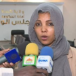 Doctor Eman Mahmoud, director general of the Kassala Ministry of Health, warns people to adhere to the coronavirus measures (Social media)