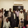 Members of the FFC Central Council after meeting with PM Hamdok in Khartoum yesterday (Social media)