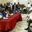 Signing ceremony in Juba on Friday (SUNA)