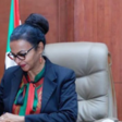 Acting Finance Minister Heba Mohamed Ali (SUNA)