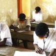 Secondary school students sitting for their final exams earlier this year (Social media)
