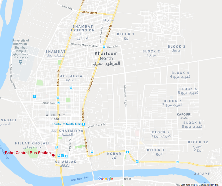 [map khartoum north]
